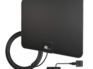 Ditch your monthly cable bill for 1byone's $14 HDTV Digital Indoor Antenna