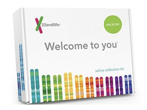 Learn all about who you are and where you come from with the $79 23andMe DNA test kit