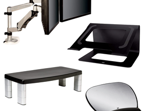 Stay healthy and productive with discounted 3M ergonomic computer accessories