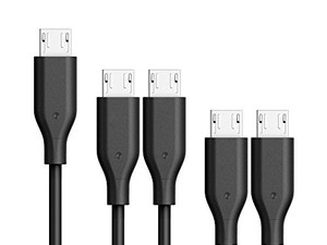 Get five of Anker's durable PowerLine micro-USB cables for less than $2 each