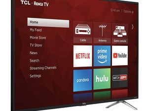 TCL's 49-inch 4K HDR Roku TV is just $280 right now