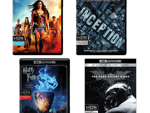Recent hits and classic films in 4K UHD are down to $15 each at Amazon