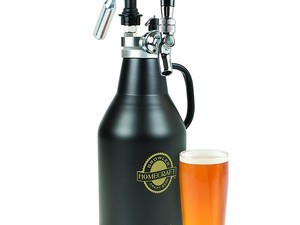 Keep 64 ounces of your favorite craft beer fresh in this discounted pressurized growler