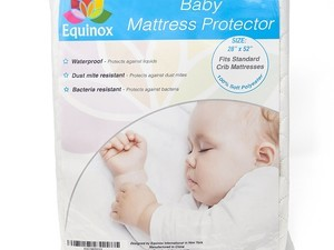 Prevent your babies mattress from getting ruined with one of these $8 protectors