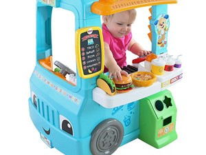 This $39 Fisher-Price Laugh & Learn Servin' Up Fun Food Truck is almost half-off