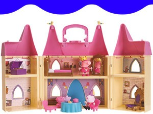 Your child will love this $18 Peppa Pig Princess Castle Playset