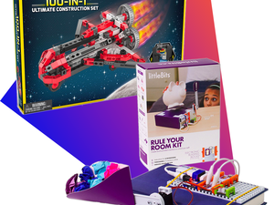 STEM toys are on sale at Amazon today only, like the $50 littleBits base kit
