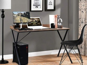 Add something new to your home office with this $50 computer desk