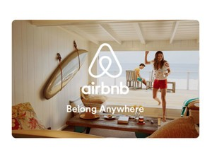 Save on your stay with a $110 Airbnb gift card for $100