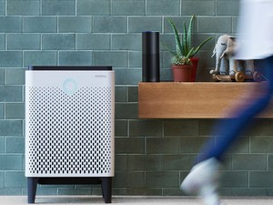 The $424 Airmega 300S air purifier works with your phone and Alexa for complete control