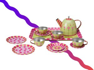 Get the $10 Alex Toys Tin Tea Set and have a tea party