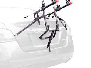 Travel with two bikes using Allen Sports' $25 Deluxe Trunk Mounted Rack