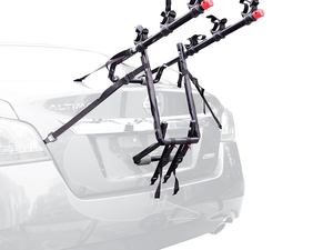 Fit this Deluxe 3-Bike Carrier Mount onto your trunk for $35