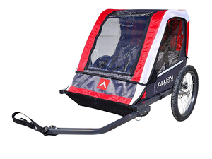 Bring along the kids on your next ride with the $69 Deluxe 2-Child Bicycle Trailer