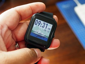 Get $15 off the Amazfit Bip Smartwatch and track steps, sleep, & more
