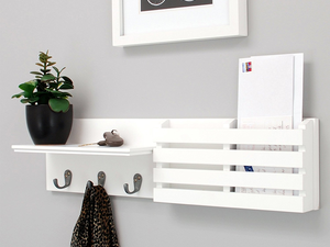 Liven up your walls with select photo frames and shelves on sale from $9 today only