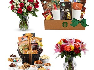 Gourmet food and gorgeous blooms are 30% off at Amazon today only