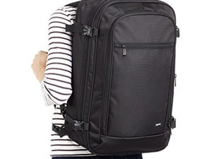 Traveling will get easier with this $34 AmazonBasics Carry-On Backpack