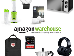 Prime members can take an additional 20% off selected Amazon Warehouse Deals