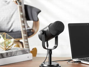 Chat and record with the $55 AmazonBasics USB Condenser Microphone