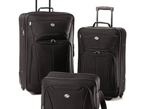 Travel in style with a new American Tourister luggage set from $50