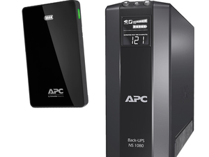 This $80 APC Back-UPS Battery Backup is bundled with a free Mobile Power Pack