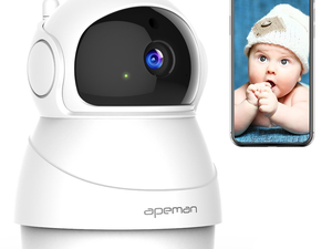 Watch over home from anywhere with 35% off Apeman's Wireless 1080p Security Camera