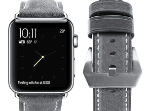 This genuine leather Apple Watch band is down to just $4 today