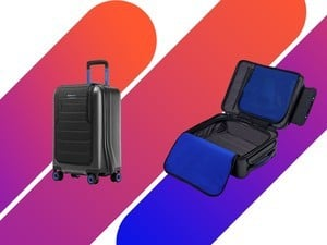 The Bluesmart One is a smart suitcase selling at its lowest price
