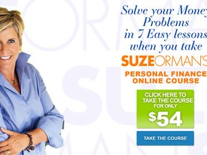 This free course from Suze Orman aims to improve your personal finances