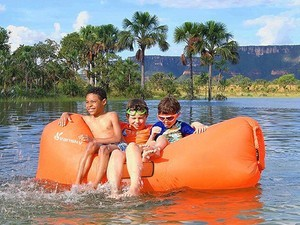 Float away with the $30 Vansky Inflatable Lounger