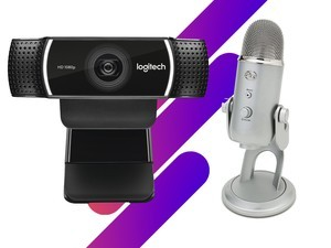 Start your streaming career off right with this webcam and USB mic for $150