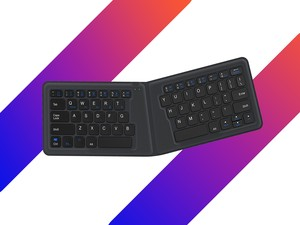 Stay productive on-the-go with the $24 iClever Foldable Bluetooth Keyboard