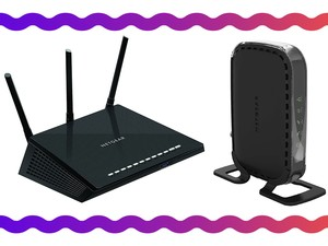 Get the Nighthawk R6700 bundled with a CM400 cable modem for just $106