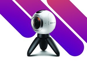 The Samsung Gear 360 camera is down to $110, its lowest price