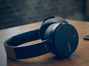 Rock out with the Extra Bass button on these $98 wireless Sony headphones