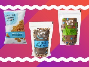 Amazon Prime members get a free snack with orders above $25