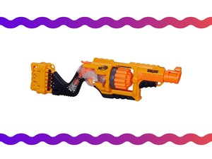 This Nerf Lawbringer blaster will restore law and order for just $17