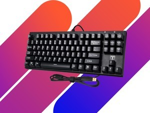 This $25 mechanical gaming keyboard keeps up with the quickest keystrokes
