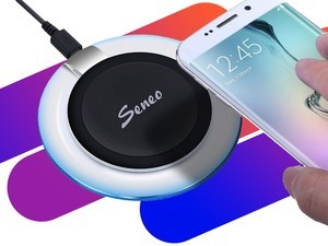 Wirelessly charge your phone for $6 with the Seneo Wireless Charging Pad