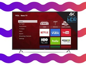 Get a 55-inch 4k Roku TV for $398 from Walmart