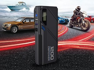 Recharge 12V vehicle batteries or your smartphone with the $80 Jump Starter