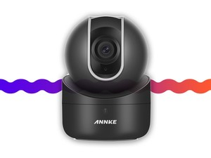 This security camera offers a sweeping view of your home for $40