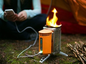 Take this $75 BioLite CampStove with you on your next camping trip
