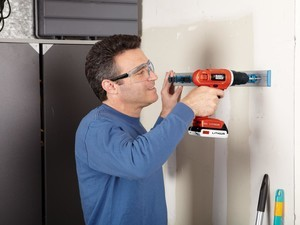 This 20V Black+Decker drill comes with a 100-piece accessory kit for $47