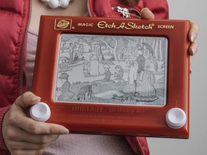 Bring back part of your childhood with this $10 Etch A Sketch