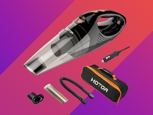 Cleaning your vehicle would be so much easier with this $20 car vacuum