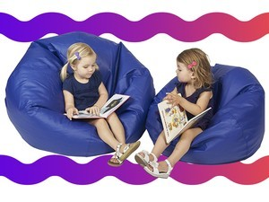 Every kid loves plopping down onto a $35 bean bag chair