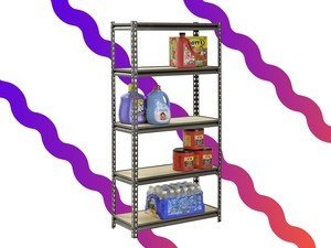 Organize your garage with this $33 Muscle Rack shelving unit