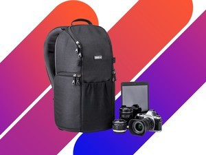 Secure expensive equipment with the $60 Trifecta 8 Camera Backpack